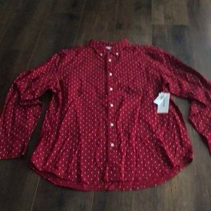 NWT Old Navy button up shirt.
